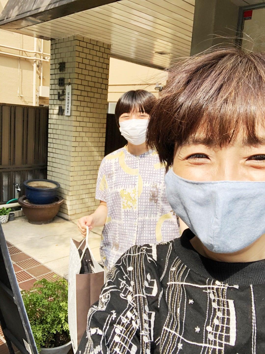 ラジオリモート収録   藤田朋子オフィシャルブログ「笑顔の種
