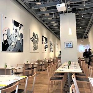 【武蔵野ミュージアム】洗練された店内は広く、明るく、そしておしゃれ!『SACURA DiNER』の画像