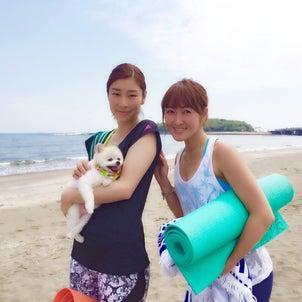 サンセットビーチヨガ2021 7月スタート〜9月(青島ビーチパーク)の画像