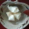 そばの実とモッツァレラチーズの画像