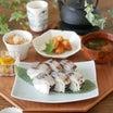 鯖寿司の晩ごはん