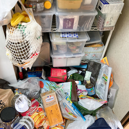 画像 食材や食器が床置き&レンジ内にまで溢れたキッチンが劇的変化!【整理収納コンサル事例】 の記事より 7つ目