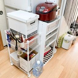 画像 食材や食器が床置き&レンジ内にまで溢れたキッチンが劇的変化!【整理収納コンサル事例】 の記事より 19つ目