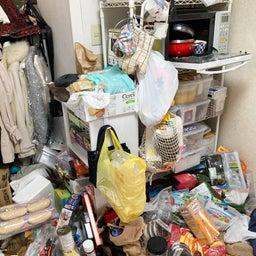 画像 食材や食器が床置き&レンジ内にまで溢れたキッチンが劇的変化!【整理収納コンサル事例】 の記事より 1つ目