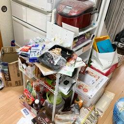 画像 食材や食器が床置き&レンジ内にまで溢れたキッチンが劇的変化!【整理収納コンサル事例】 の記事より 9つ目