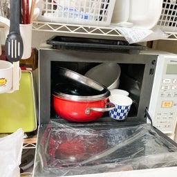 画像 食材や食器が床置き&レンジ内にまで溢れたキッチンが劇的変化!【整理収納コンサル事例】 の記事より 6つ目