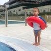 プール開きと理想のワンピース