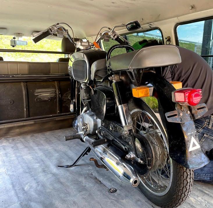 C92 バイクショップさんへ!