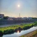 【ランニング】太陽ギラギラの空