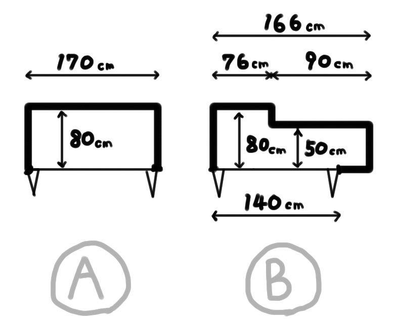 整理収納 クローゼット平面図拡大図