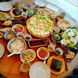 【サロンレポ】みんなで作れば楽しくあっという間!つぶつぶ手巻き寿司♪の画像