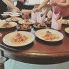 今回北区のお料理教室のテーマは「ダイエット」7名様でお野菜たっぷりの3品を作って頂きましたの画像