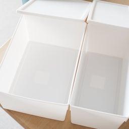 画像 セリアに新作ボックスが登場!スクエアBOXフタ付検証レポ & フタ付きボックス総復習 の記事より 5つ目
