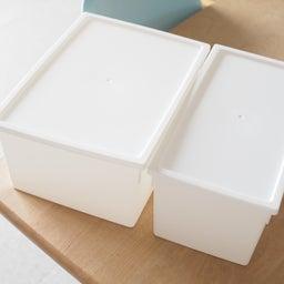 画像 セリアに新作ボックスが登場!スクエアBOXフタ付検証レポ & フタ付きボックス総復習 の記事より 1つ目