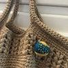 【約5年前の手作りブローチ】かぎ針編みとか小物作りとかすぐに出来るもの場所も1...の画像
