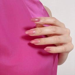 画像 pink nail♡ の記事より 2つ目