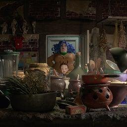 画像 スタジオジブリ最新作!ジブリ初のフル3DCG作品『劇場版 アーヤと魔女』新公開日が8/27に決定 の記事より 12つ目