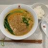 《menjoy》黒龍天神樓「胡麻たっぷり担々麺」 大阪 天満の画像