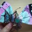 鬼滅の刃 胡蝶しのぶイメージ【③胡蝶しのぶイメージのリボンの作り方と髪飾りの組み立て方】