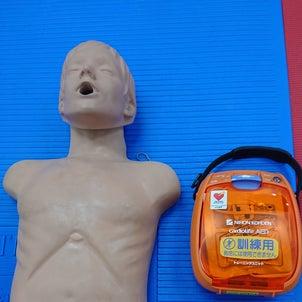 一時救命処置の研修を行いました。の画像