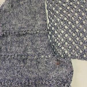 パピーのアストロでかぎ針編みの袖!の画像