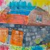 納屋の絵(小学生月2回のクラス)の画像