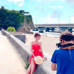 撮影風景in沖縄の画像