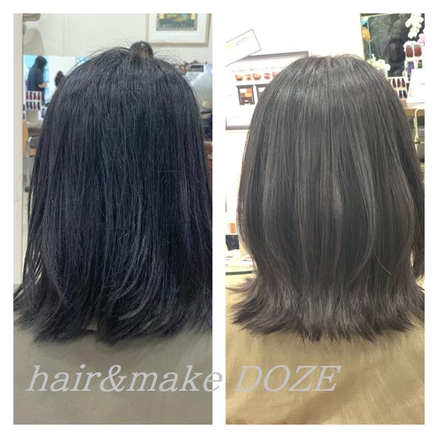 髪質改善プレミアムトリートメントは薬剤ではないので。