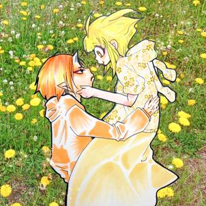 鬼灯様❤️幸福の黄色い鬼えつ #7月まで鬼えつ❤️ ②の画像