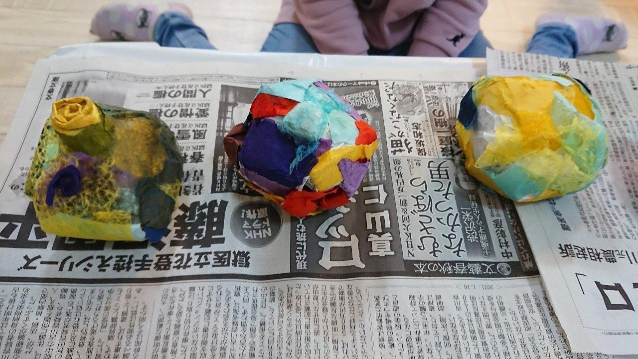 【お絵描き教室】造形作品