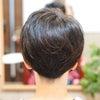 神戸から沖縄産の美らヘナ希望の初めてのお客さま☆刈り上げ女子に変身♪の画像