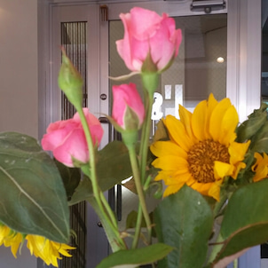 オリンピックまで1カ月ぐらい!!「花」の画像
