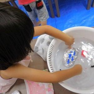 【Kodomo鶴見東口教室】6月カリキュラム「わくわく実験」の画像