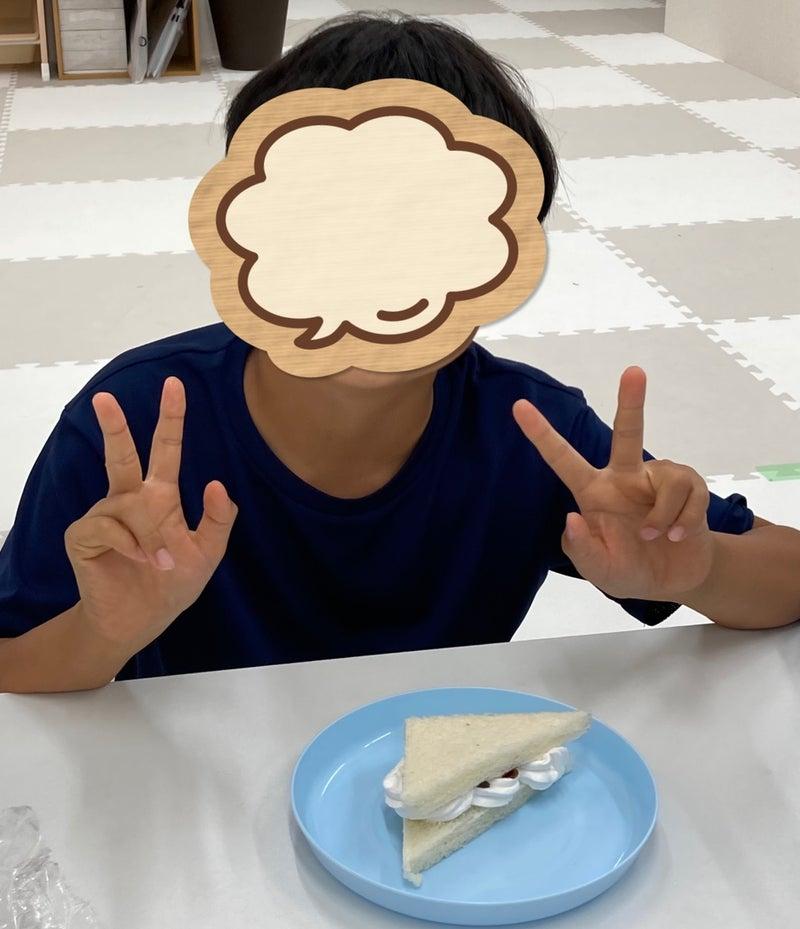 o1078125214964177129 - 6月23日 toiroかしわ台 ☆おやつ作り:サンドウィッチ☆