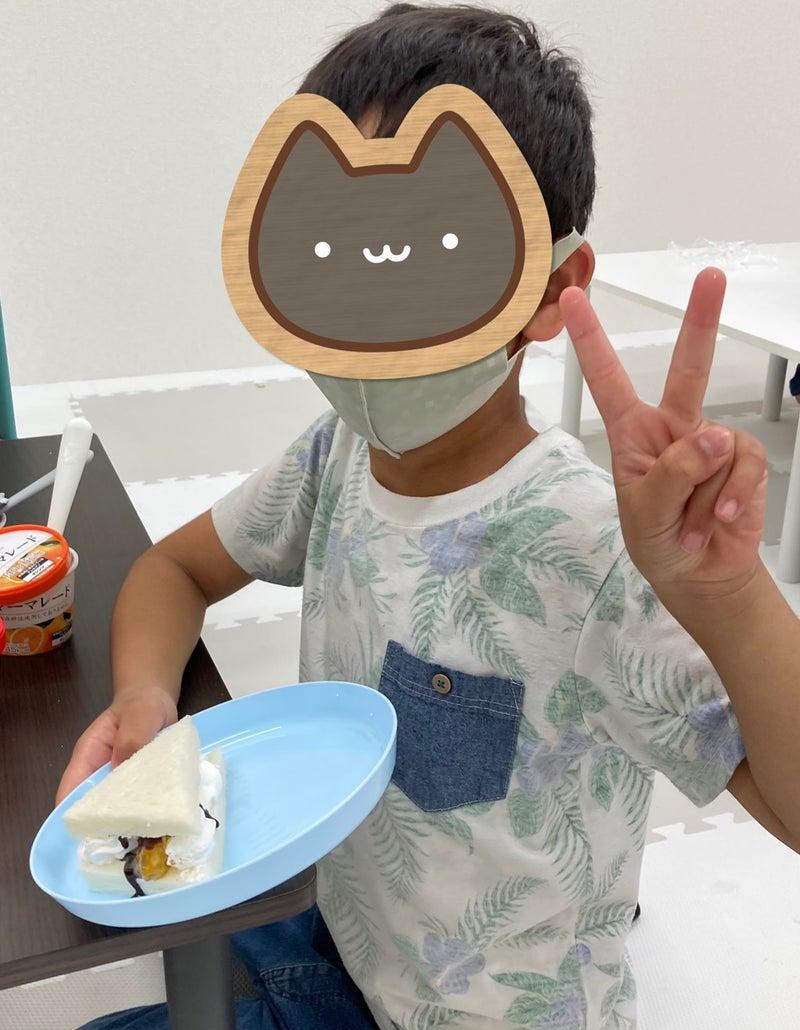 o1080139014964177125 - 6月23日 toiroかしわ台 ☆おやつ作り:サンドウィッチ☆