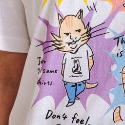 画像 チャリティー猫Tシャツ完成しました! の記事より 7つ目