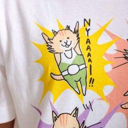 画像 チャリティー猫Tシャツ完成しました! の記事より 5つ目