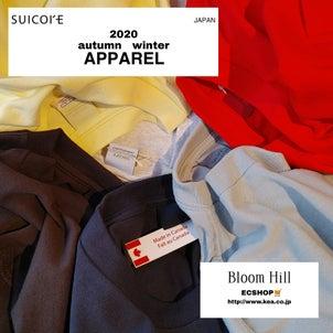 【bloomhill】suicoke APPAREL 発売START.の画像