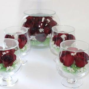 赤いバラの乾燥の画像
