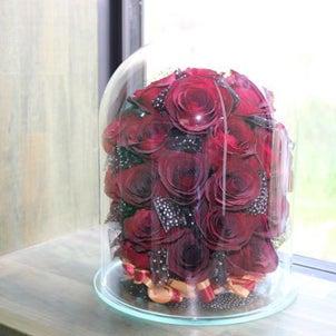 プロポーズのお花加工の画像