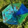 傘にペイントの画像