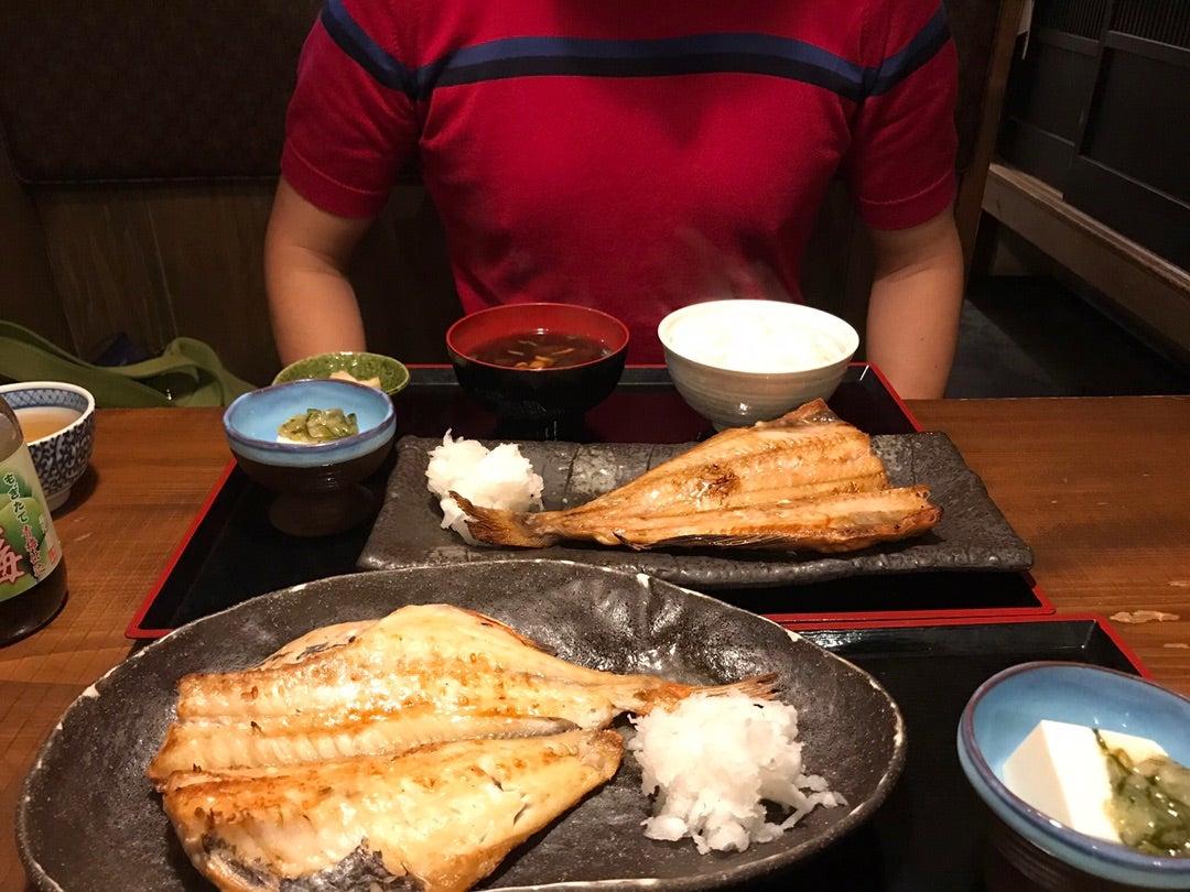 奥渋の焼き魚定食!