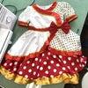 初洋裁の初ドレスの画像
