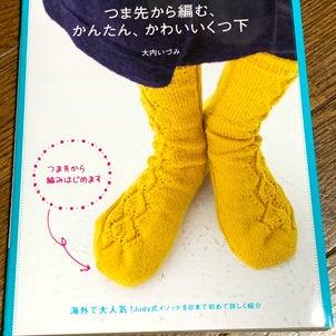 本と毛糸の購入品の画像