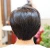ヘアカラーをしているのに、髪にツヤと潤いが増して若返ったみたい♡の画像