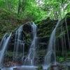 猿壺の滝(兵庫県新温泉町)の画像