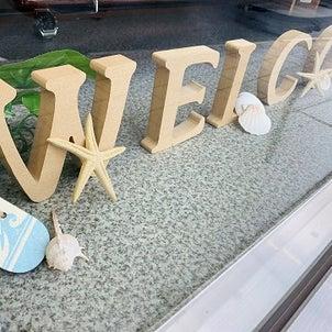 ウィンドーディスプレー7月バージョン☆彡の画像