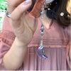 青い三日月 蟹座の新月の画像