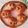 <レポ>紫芋のベーグルとアンパンマンのあんパン・オリーブソルト♡の画像