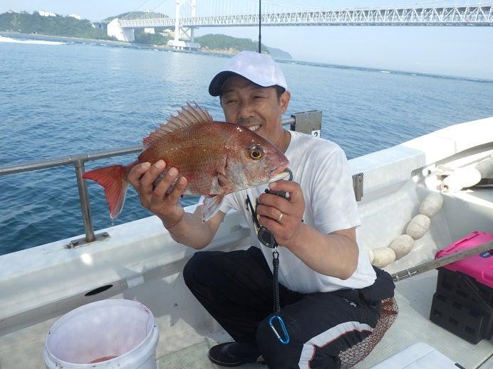 鳴門釣船 愛海 鯛ラバ 鯛ジグ